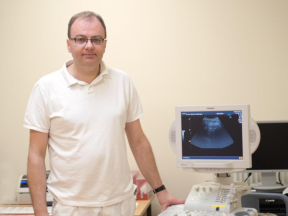 Piotr Wróbel,  Facharzt für Innere Medizin, Gastroenterologe