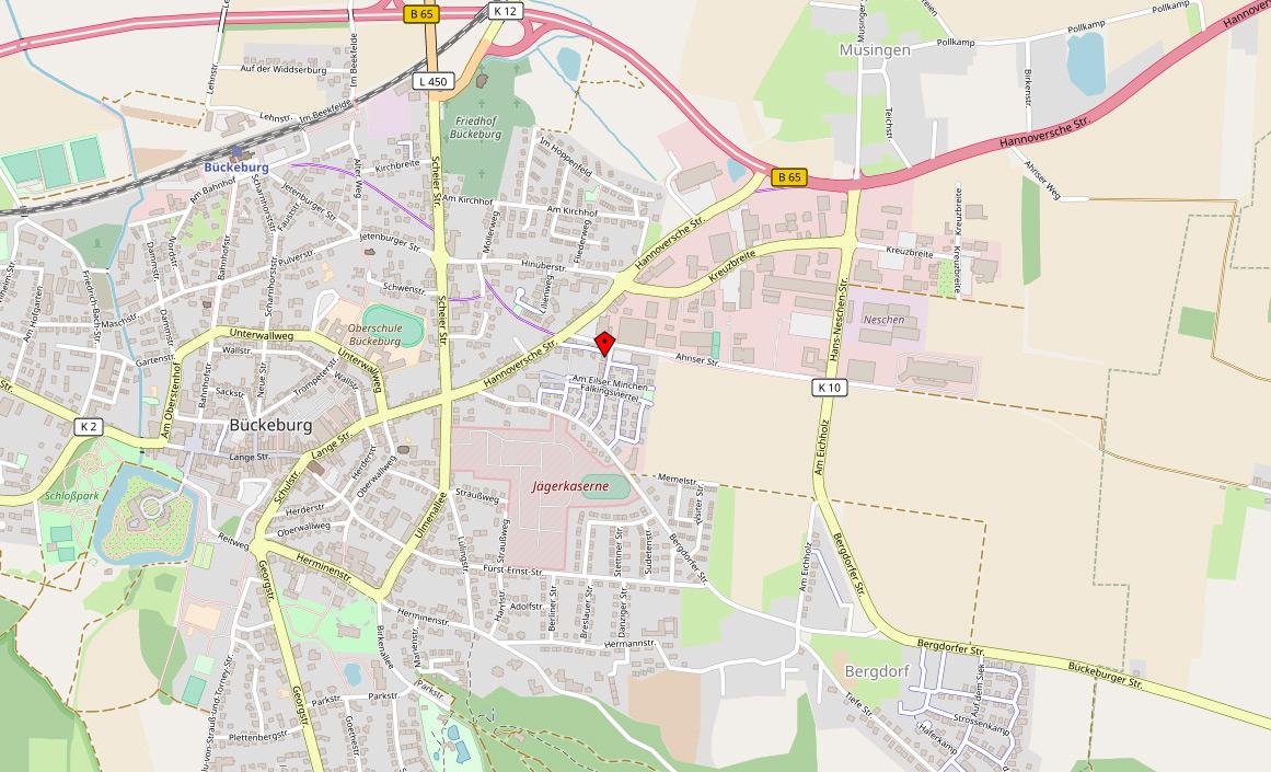 Gastropraxis Wrobel in Bückeburg